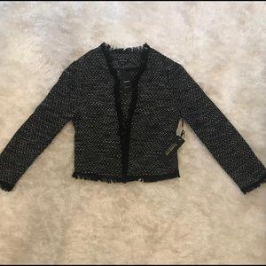 Bebe Tweed Blazer - New